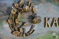 Rosenornament Bronze