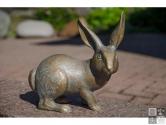 Hase aus Bronze